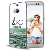 Handy Tasche für HTC One M8 Schutz Hülle Silikon Cover Backcover Bumper Case