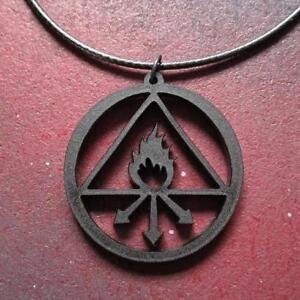 Perfect Red King Symbol for Sulfur Constantine Tattoo Banish Pendant Necklace