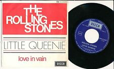 "THE ROLLING STONES 45 TOURS 7"" BELGIUM LITTLE QUEENIE"