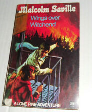 MALCOLM SAVILLE:WINGS OVER WITCHEND:ARMADA PAPERBACK,1969,A LONE PINE ADVENTURE