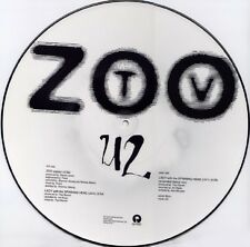 "U2 Zoo Station 3 track Usa Dj 12"" Picture Disc with 1992 Tour Dates"