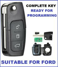 Transponder Remote Flip Car Key Suitable for FORD Fairlane BF FG 2006 - 2011