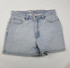 Tommy Hilfiger vintage women's light denim casual short shorts flag logo Sz/12