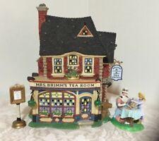 Dept 56 Dickens Village Mrs. Brimm's Tea Room Cancer Awareness Series