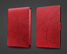 ROC® Smart Slim Wallet Flip Leather Case Cover for Amazon Kindle Paperwhite