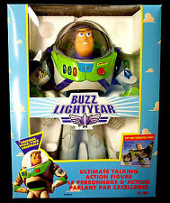 Toy Story Electronic Talking Buzz Lightyear Disney Figure Thinkway New 1995