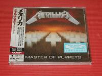 2018 METALLICA Master Of Puppets (2016 REMASTER)  JAPAN SHM CD