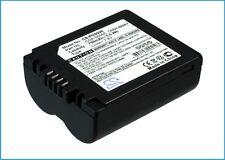 7.4V battery for Panasonic Lumix DMC-FZ8K, Lumix DMC-FZ30-K, Lumix DMC-FZ50EB-K