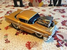 Muscle Machines '58 Chevrolet Impala Gold 1:18 Scale Die-Cast Car 50's Hot Rod