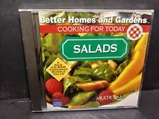 Better Homes & Gardens Cooking For Today Salads Cd Rom Brand New B225