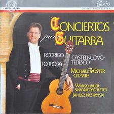 "CD Michael Tröster  – ""Concertos para Guitarra"""