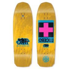 "Black Label John Lucero Cross Yellow Stain 10"" Skateboard Deck"