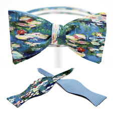 "BOW TIE ""MONET"" 100% Cotton - Handmade by Remarkable Bowties - #Rem-FA-CM-1117"