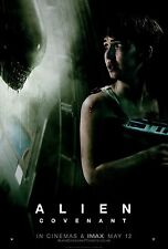 Alien Covenant Movie Poster (24x36) - Michael Fassbender, James Franco v4