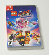 Nintendo Switch THE LEGO MOVIE 2 Video Game COMPLETE TESTED FAST SHIP