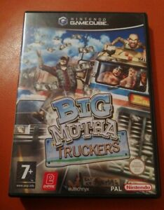 RARE NINTENDO GAMECUBE GAME BIG MUTHA TRUCKERS BOXED WITH MANUAL TESTED