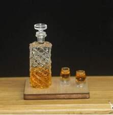 1:12 Dollhouse Miniature Whiskey / Miniature Alcohol Miniature Drink D124