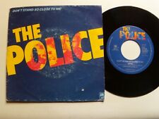 "THE POLICE Don't stand so close to me / Friends 7"" Holland AMS 9001 Blue labels"