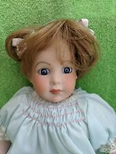 "12"" tall quality reproduction grace c rockwell doll germany"