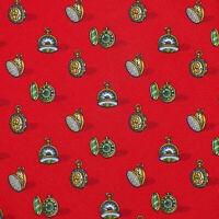 SALVATORE FERRAGAMO Mens Red Green Gold POCKET WATCH Silk Tie Italy NWT