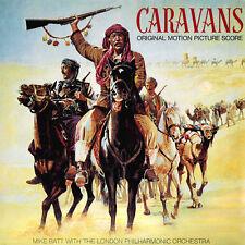 RARE CD CARAVANS - Soundtrack Score OST OOP CD - Mike Batt 1979