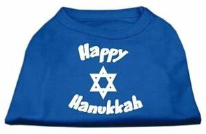 Happy Hanukkah Screen Print Dog Cat Pet Puppy Christmas Hanukkah Shirt