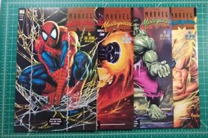 Marvel Masterpieces Collection #1-4 (1993) NM Complete Comic Set Joe Jusko