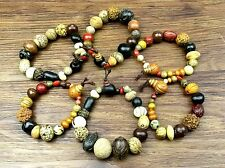 18+1 Bodhi Seed Beads Tibet Buddhism Bracelet