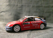 CITROEN XSARA WRC  #1 RALLYE MONTE CARLO 2005 LOEB ET  ELENA / SUR SOCLE / 1/43