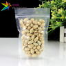 Clear Transparent Stand Up Doy Pouches, Zip Lock Food Safe Zipper Bags (100 pcs)