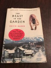 The Beast In The Garden Paperback Book By David Baron