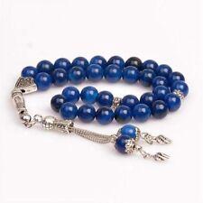 Agate Stone Islamic Prayer 33 beads Tasbih - Misbaha - Rosary - Tasbeeh (8mm