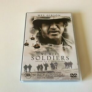 We Were Soldiers DVD - Mel Gibson - V/G Condition - Free Post - Region:4