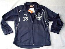 NWT PUMA TC United Thurston County Soccer Dark Blue Jacket (Size: Youth Large)