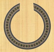 CLASSICAL,GUITAR  ROSETTE,SOUND HOLE, WATERSLIDE DECAL/STICKER HB-35