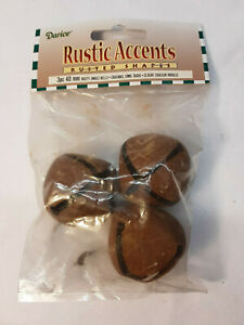 Darice Rustic Accents Rusted Rusty Jingle Bells 25mm 30mm 40mm 45mm