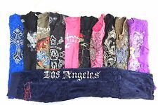 Mixed w Affliction Women's Lot of 11 Graphic T-Shirts Small  [BJ15569]