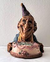 Vintage Happy Birthday Lee Sievers Figurine  Cairn Studios 1991