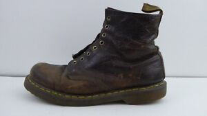 Dr. Martens High Brown Leather Shoes No Insoles or Laces Size 12 Parts Only