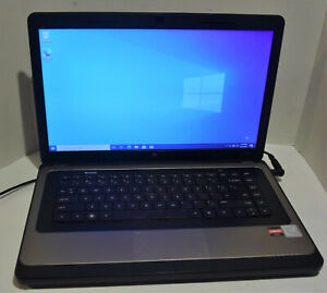 HP 635 15.6'' Notebook (AMD E-350 1.60GHz 4GB 250GB Win 10) Laptop