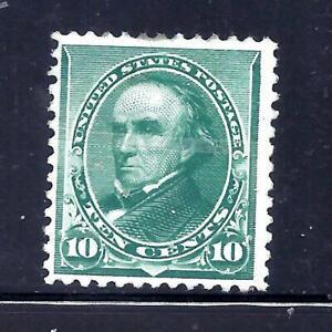 US Stamps  - #226 - MNG - 10 cent Webster Issue  - CV  $160