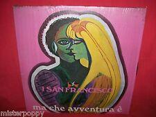 I SAN FRANCISCO Ma che avventura è LP ITALY 1978 MINT- Incl. Vuoi di Renato Zero