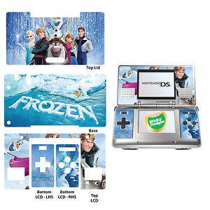 Disney Frozen Vinyl Skin Sticker for Nintendo DS Original