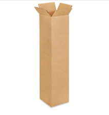 100 4x4x18 Cardboard Paper Boxes Mailing Packing Shipping Box Corrugated Carton