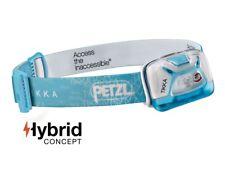 Petzl TIKKA Blau Led Stirnlampe max. 200 Lumen, Leuchtweite ca. 60m