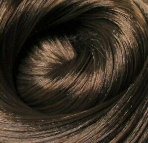 MILK CHOCOLATE Brown Synatra-Saran Doll Hair for Custom Reroots