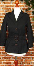 JACKE Damenjacke Blazer Jacket Spenzerjacke S 36 38 60er Stil Jahre Schwarz K1