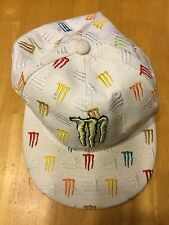 "Monster Energy Athlete Hat - Fitted Cap Size 7 1/2"" - Rare"