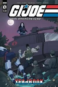 GI JOE A REAL AMERICAN HERO YEARBOOK #4 Schoening Cover A | IDW| Available 12/29