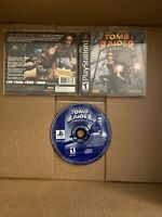 Tomb Raider Chronicles cib PlayStation PS1 Complete Manual & Registration Card